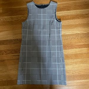 Theory size 6 herringbone dress